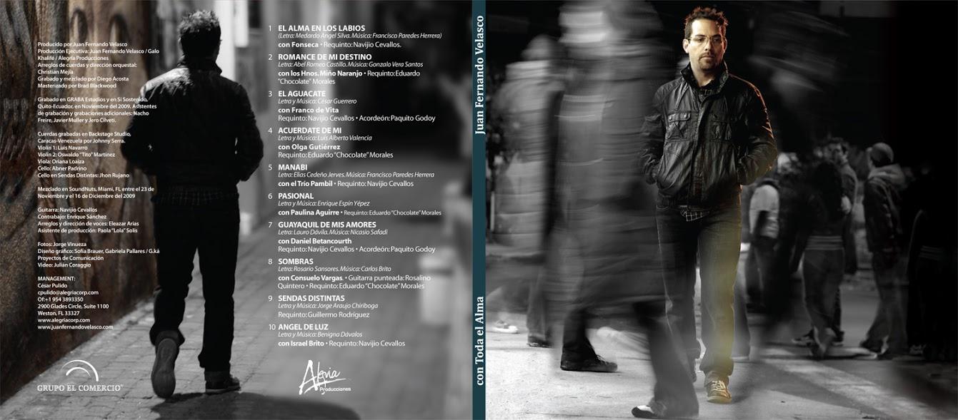 Juan Fernando Velasco - Alma en los labios